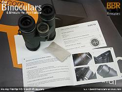 Cleaning Cloth for the Hawke Frontier ED X 8x32 Binoculars