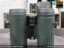 Diopter Adjustment on the Hawke Frontier ED X 8x32 Binoculars