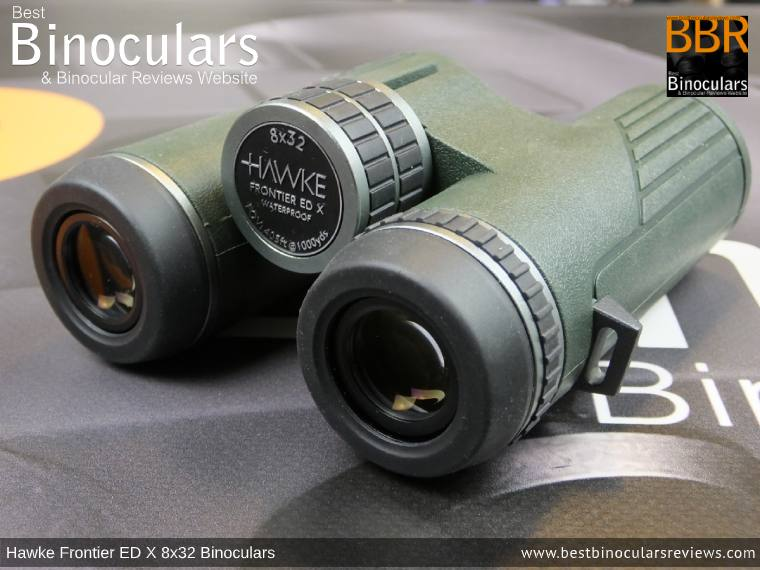 Focus Wheel on the Hawke Frontier ED X 8x32 Binoculars
