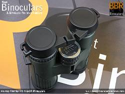 Rain Guard on the Hawke Frontier ED X 8x32 Binoculars