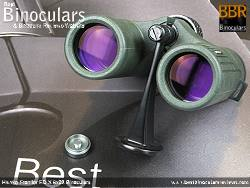 Tripod Adapter on the Hawke Frontier ED X 8x32 Binoculars