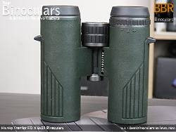 Underside view of the Hawke Frontier ED X 8x32 Binoculars