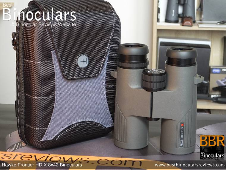 Inside the Hawke Frontier 8x42 HD X Binoculars Carry Case