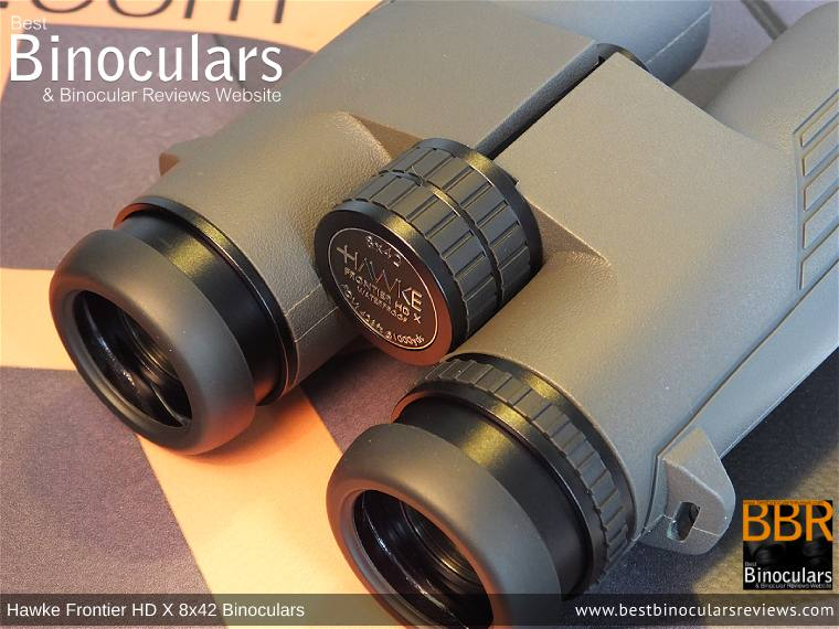 Focus Wheel on the Hawke Frontier 8x42 HD X Binoculars