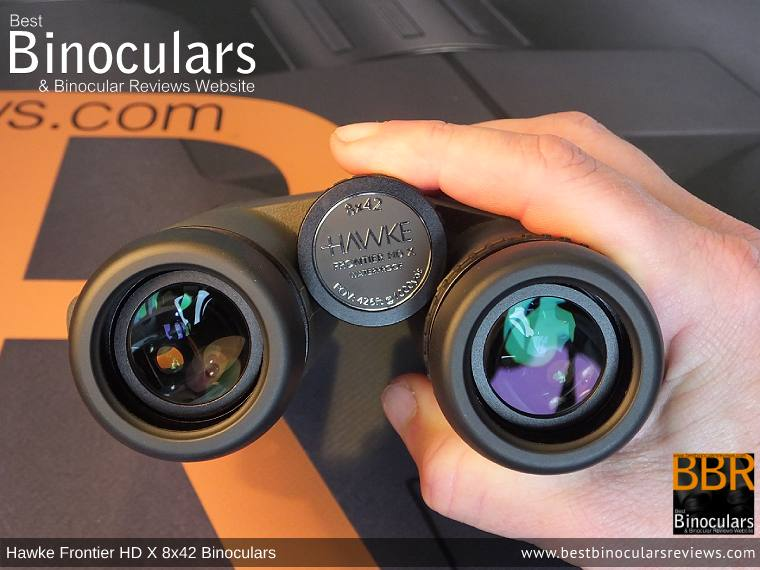 Adjusting the Focus Wheel on the Hawke Frontier 8x42 HD X Binoculars