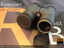 Objective Lens Covers on the Hawke Frontier 8x42 HD X Binoculars