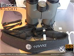 Neck Strap included with the Hawke Frontier 8x42 HD X Binoculars