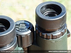 Diopter Adjustment on the Hawke Nature-Trek Open Hinge 8x42 Binoculars