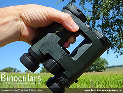 Rear of the Hawke Nature-Trek 8x42 Binoculars