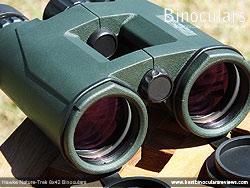 Objective Lenses on the Hawke Nature-Trek Open Hinge 8x42 Binoculars