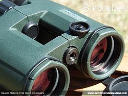 Tripod adapter thread on the Nature-Trek Open Hinge 8x42 Binoculars