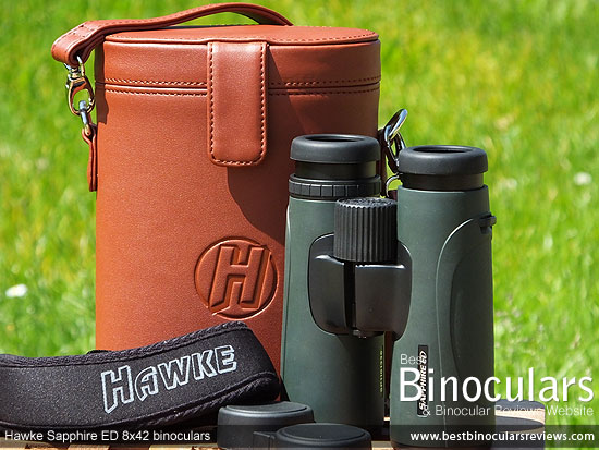 Carry Case for the Hawke Sapphire ED 8x42 Binoculars