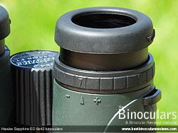 Diopter Adjustment on the Hawke Sapphire ED 8x42 Binoculars
