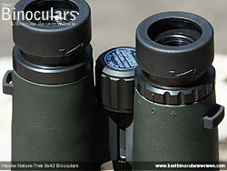Diopter Adjustment on the Hawke Nature-Trek 8x42 Binoculars