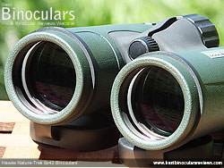 Objective Lenses on the Hawke Nature-Trek 8x42 Binoculars