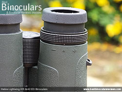 Diopter Adjustment on the Helios Lightwing HR 8x42 Binoculars
