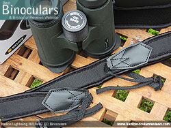 Neck Strap included with the Helios Lightwing HR 8x42 Binoculars