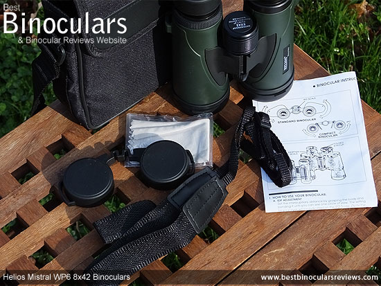 Carry Case for the Helios Mistral WP6 8x42 Binoculars