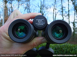 Focusing the Helios Mistral WP6 8x42 Binoculars