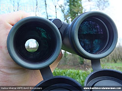 Objective Lenses on the Helios Mistral WP6 8x42 Binoculars