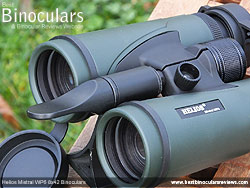 Tripod adapter thread on the Nature-Trek 8x42 Binoculars