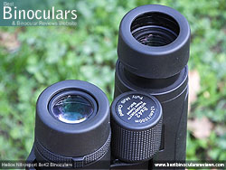 Eyecups on the Helios Nitrosport 8x42 Binoculars