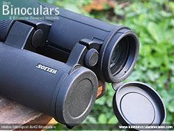Objective Lens Covers on the Helios Nitrosport 8x42 Binoculars