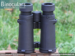Underside of the Helios Nitrosport 8x42 Binoculars