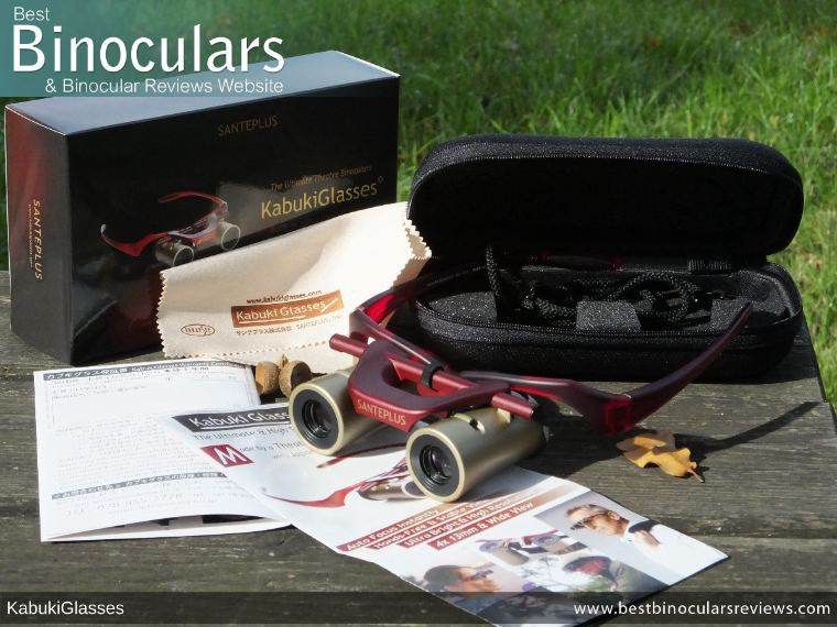 Included Accessories with the Kabuki Glasses By SANTEPLUS