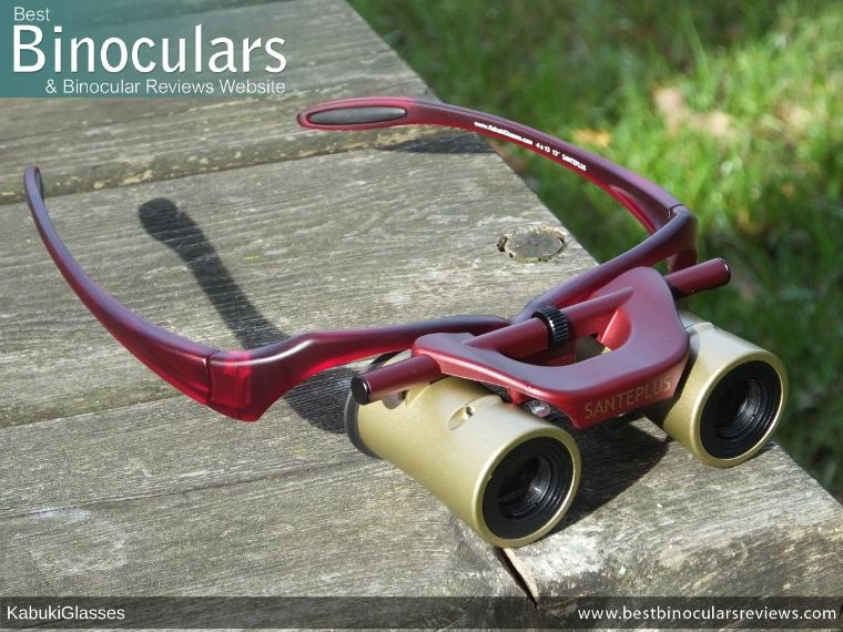 Kabuki Glasses By SANTEPLUS with temples open