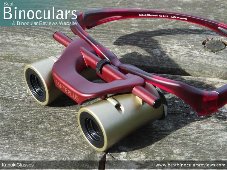 Objective Lenses on the Kabuki Glasses By SANTEPLUS