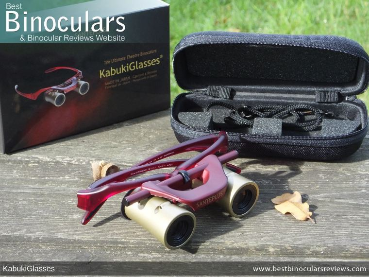 Kabuki Glasses By SANTEPLUS with box and case