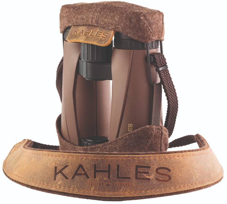 Protective cover and neckstrap for theKahles Helia 8x42 Binoculars
