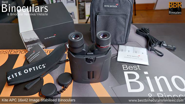 Accessories for the Kite APC 16x42 Image Stabilised Binoculars