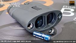 Battery Compartments on the Kite APC 16x42 Image Stabilised Binoculars