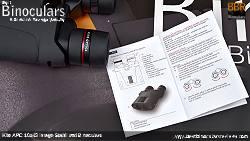 Instructions for the Kite APC 16x42 Image Stabilised Binoculars