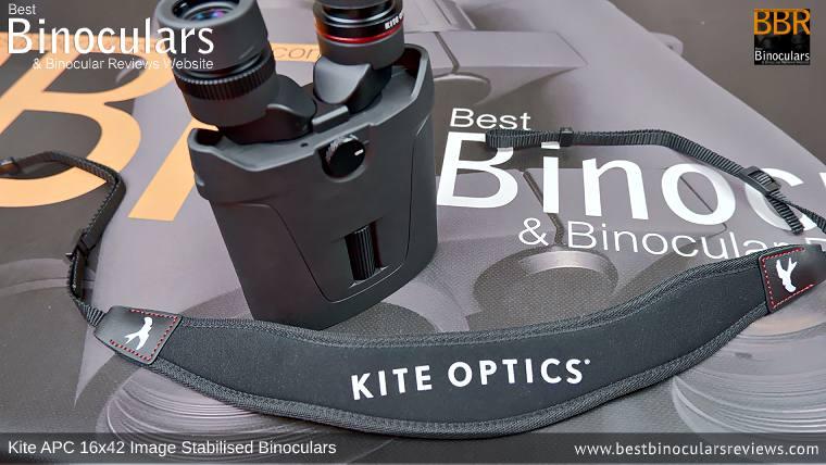 Neck Strap for the Kite APC 16x42 Image Stabilised Binoculars