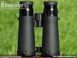 Underside of the Kite Ibis ED 8x42 Binoculars