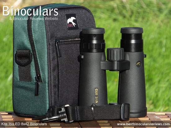 Carry Case for the Kite Ibis ED 8x42 Binoculars