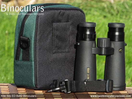 Carry Case for the Kite Ibis ED 8x42 Binoculars