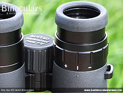 Diopter Adjustment on the Kite Ibis ED 8x42 Binoculars