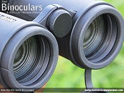 Objective Lenses on the Kite Ibis ED 8x42 Binoculars
