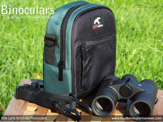 8x30 Lynx HD Binoculars with Carry Case