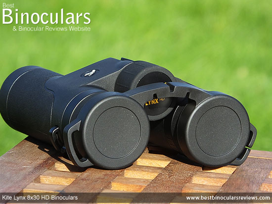 RainGuard on the Kite Lynx HD 8x30 Binoculars
