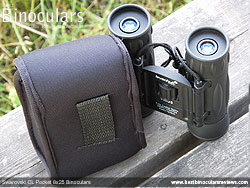 Rear view of the Levenhuk protective pouch