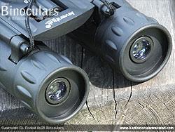 Eyecups on the Levenhuk Atom 10x25 Binoculars