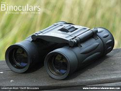 Objective Lenses on the Levenhuk Atom 10x25 Binoculars