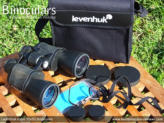 Accessories for the Levenhuk Atom 10x50 Binoculars