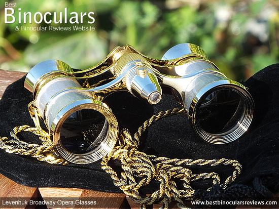 25mm Objective Lenses on the Levenhuk Broadway Opera Binoculars