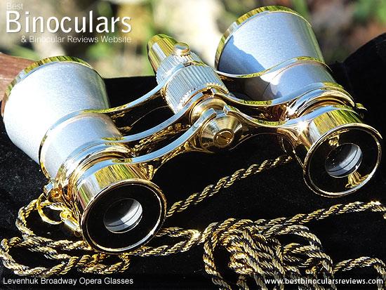 Focus wheel on the Minox BL 8x33 HD Binoculars